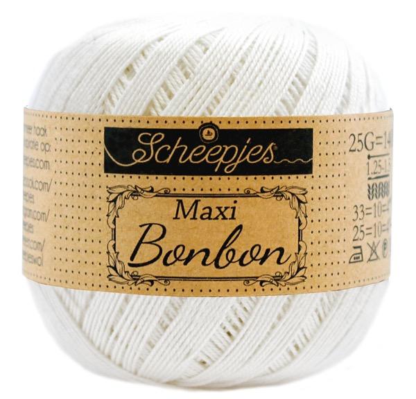 Scheepjes Maxi Bonbon Bridal White 105