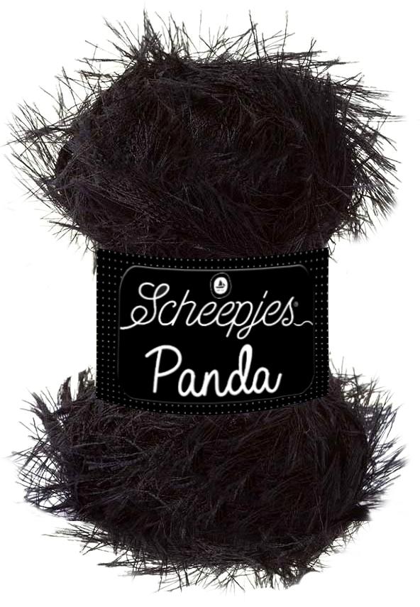 Scheepjes Panda Kleur Black Bear 585
