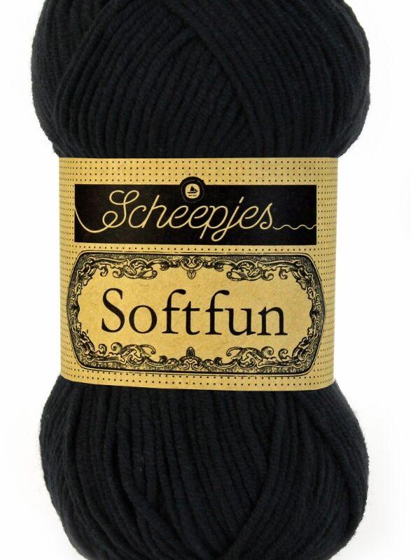 Scheepjes Softfun - 2408 Black