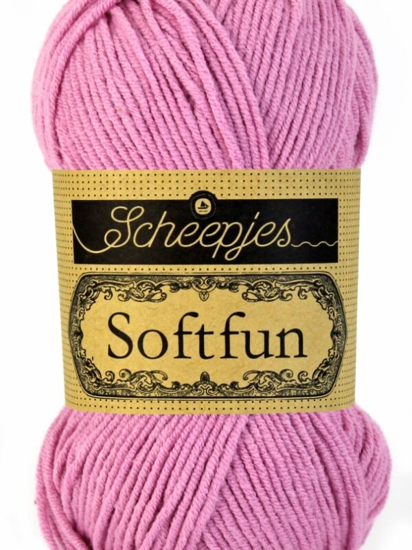 Scheepjes Softfun - 2480 Pink