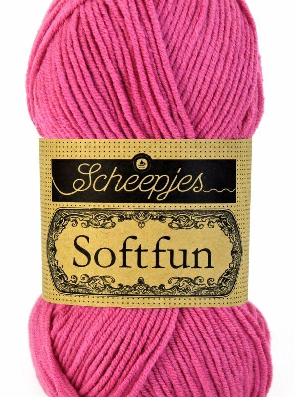 Scheepjes Softfun - 2495 Hot Pink