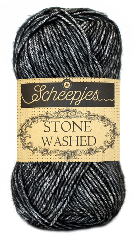 Scheepjes - Stone Washed - Black Onvx 803