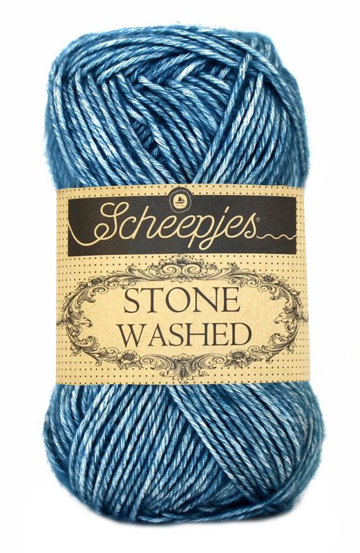 Scheepjes - Stone Washed - Blue Apatite 805