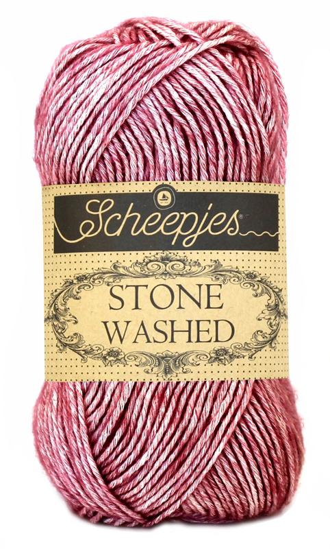 Scheepjes - Stone Washed - Corundum Ruby 808