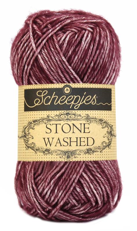 Scheepjes - Stone Washed - Garnet 810