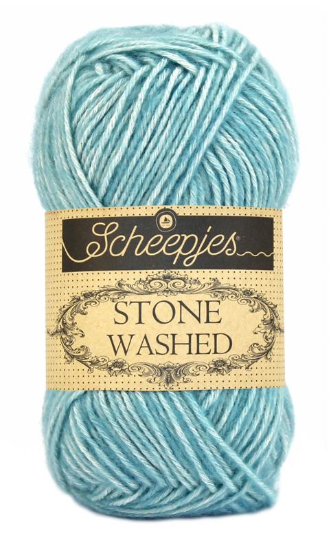 Scheepjes - Stone Washed - Amazonite  813