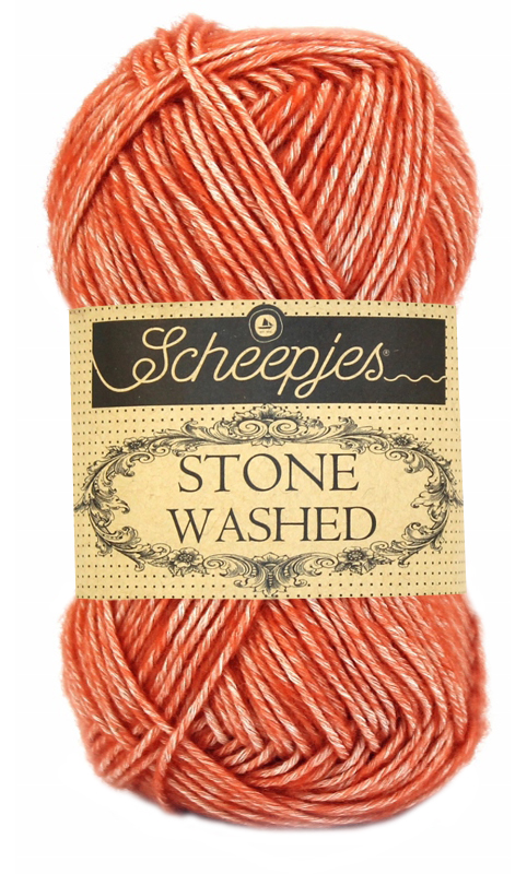 Scheepjes - Stone Washed - Coral 816
