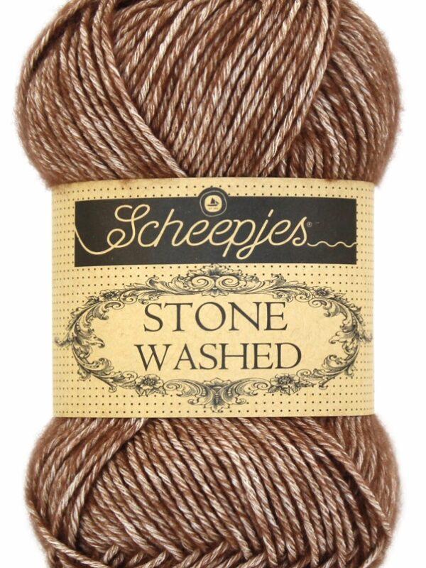 Scheepjes - Stone Washed - Brown Agate 822