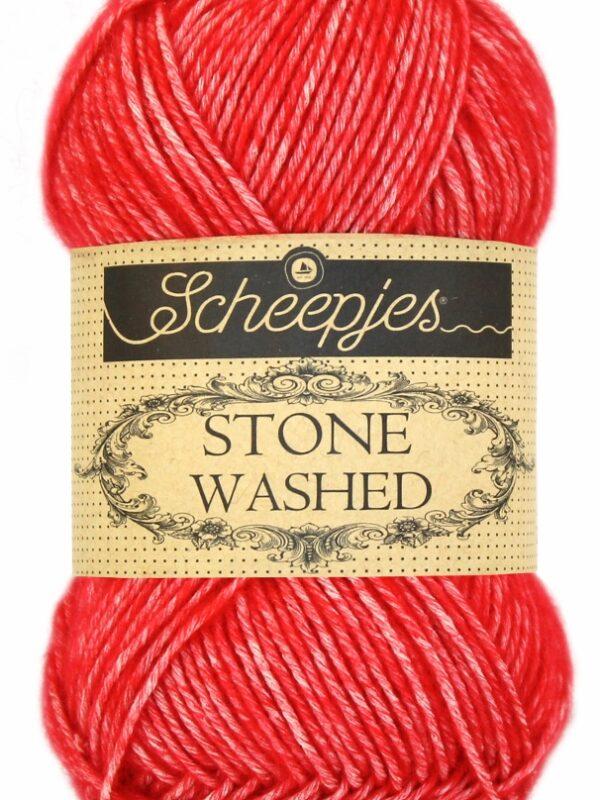 Scheepjes - Stone Washed - Carnelian 823