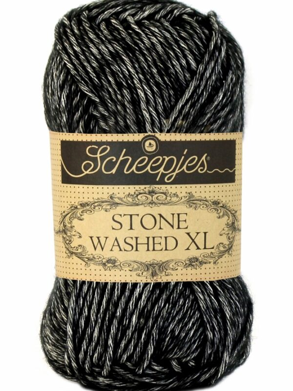 Scheepjes Stone Washed XL Black Onvx 843