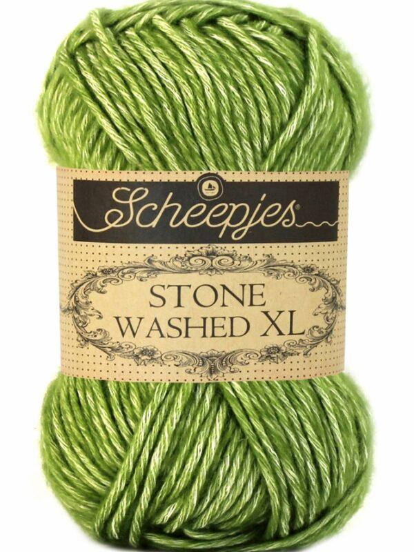 Scheepjes Stone Washed XL Canada Jade 846