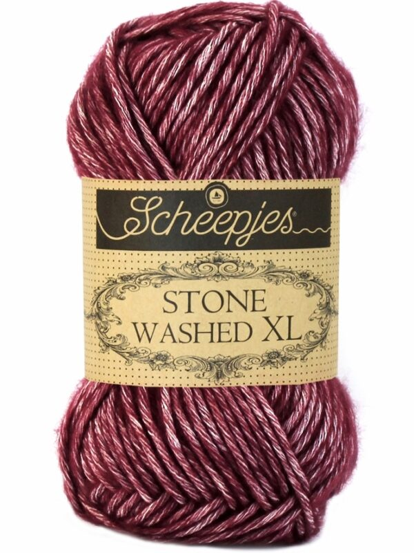 Scheepjes Stone Washed XL Garnet 850