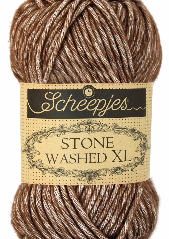 Scheepjes Stone Washed XL Brown Agate 862