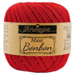 Scheepjeswol - Maxi Sugar Rush - kleur Red 722
