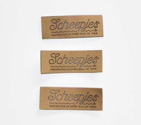 Label Scheepjeswol Leder