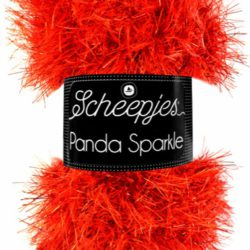 Scheepjes Panda Sparkle Kleur Ruby 356