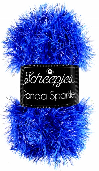 Scheepjes Panda Sparkle Kleur Sapphire 360