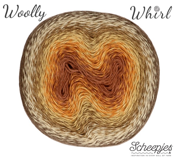 Scheepjes Woolly Whirl Kleur Chocolate Vermicelli 471