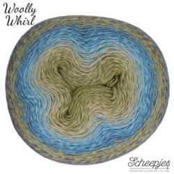 Scheepjeswol Woolly Whirl Kleur Kiwi Drizzle 473