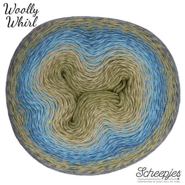 Scheepjes Woolly Whirl Kleur Kiwi Drizzle 473