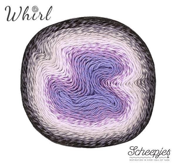 Scheepjes Whirl Dark Grape Squish 786