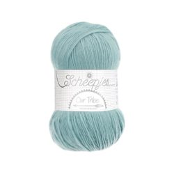 Scheepjeswol Our Tribe Kleur Blue Flower Haze 882
