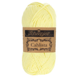 Scheepjeswol Cahlista Kleur Lemon Chiffon 100