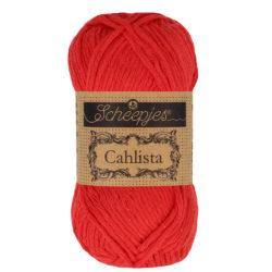Scheepjeswol Cahlista Kleur Hot Red 115