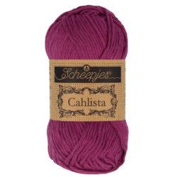 Scheepjeswol Cahlista Kleur Tyrian Purple 128