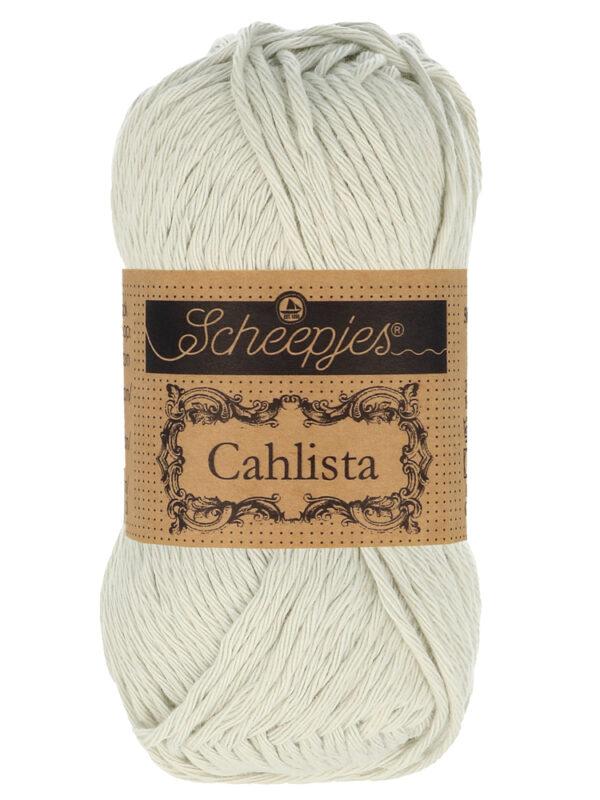 Scheepjes Cahlista Kleur Light Silver 172