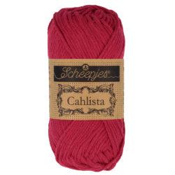 Scheepjeswol Cahlista Kleur Scarlet 192
