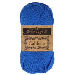 Scheepjeswol Cahlista Kleur  Electric Blue 201