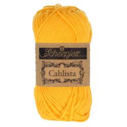 Scheepjeswol Cahlista Kleur Yellow Gold 208