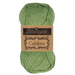 Scheepjeswol Cahlista Kleur Sage Green 212