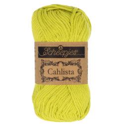 Scheepjeswol Cahlista Kleur Green Yellow 245
