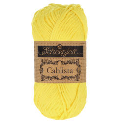 Scheepjeswol Cahlista Kleur Lemon 280