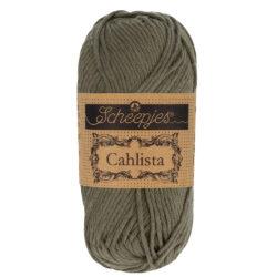 Scheepjeswol Cahlista Kleur Dark Olive 387
