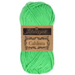 Scheepjeswol Cahlista Kleur Apple Green 389