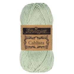 Scheepjeswol Cahlista Kleur Silver Green 402