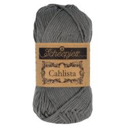 Scheepjeswol Cahlista Kleur Anthracite 501