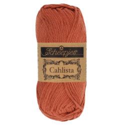 Scheepjeswol Cahlista Kleur Brick Red 504