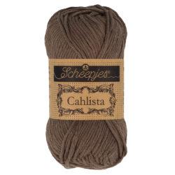 Scheepjeswol Cahlista Kleur Chocolate 507
