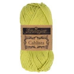Scheepjeswol Cahlista Kleur Lime 512