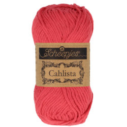 Scheepjeswol Cahlista Kleur Candy Apple 516