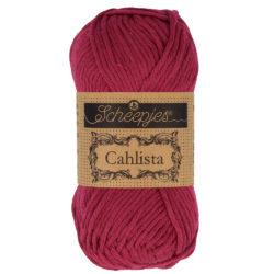 Scheepjeswol Cahlista Kleur Ruby 517