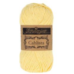 Scheepjeswol Cahlista Kleur Primrose 522