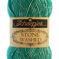 Scheepjeswol - Stone Washed - Malachite 825