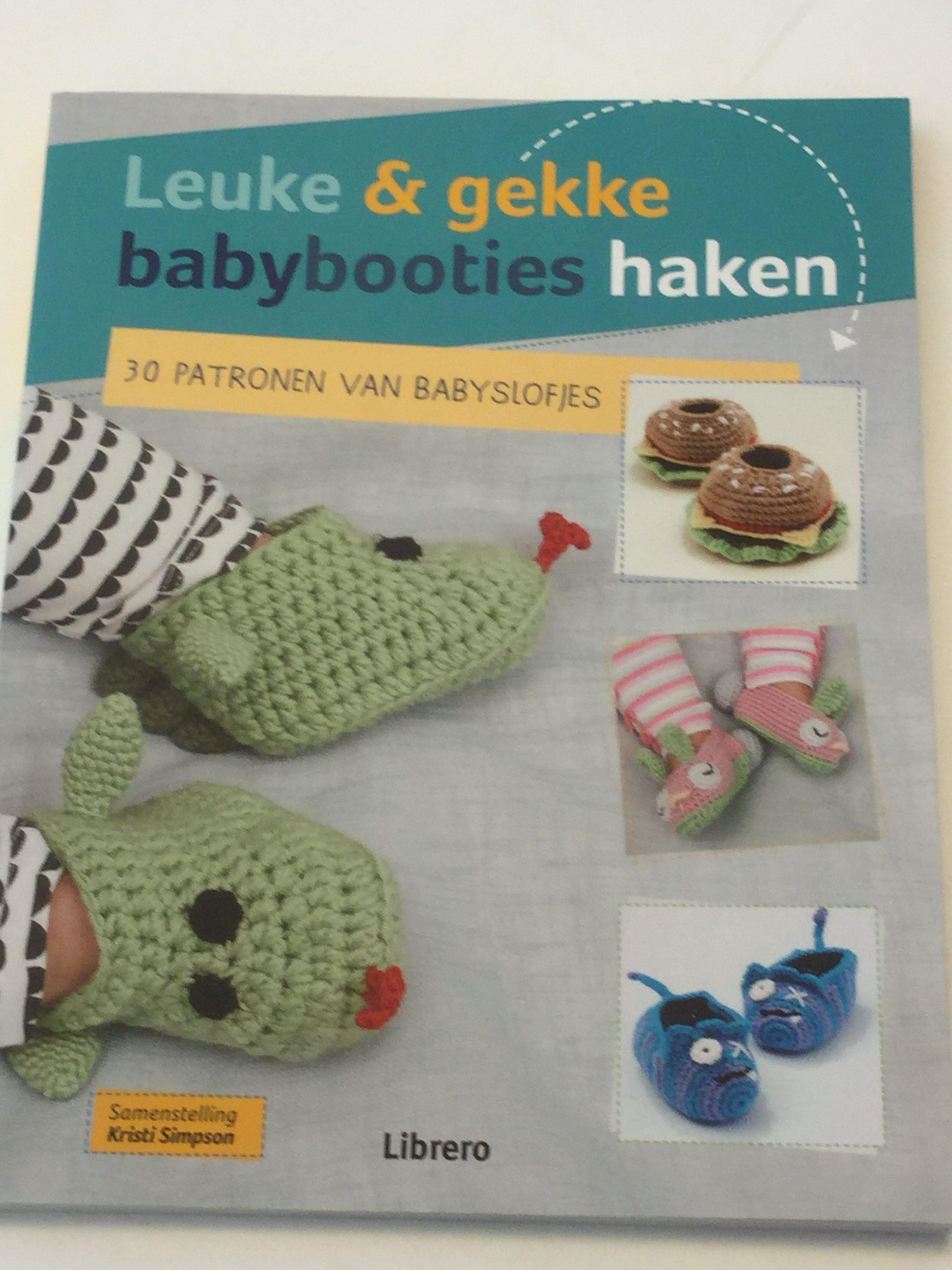 Leuke Gekke Babybooties Haken Kristi Simpson Bij Atelier 9a