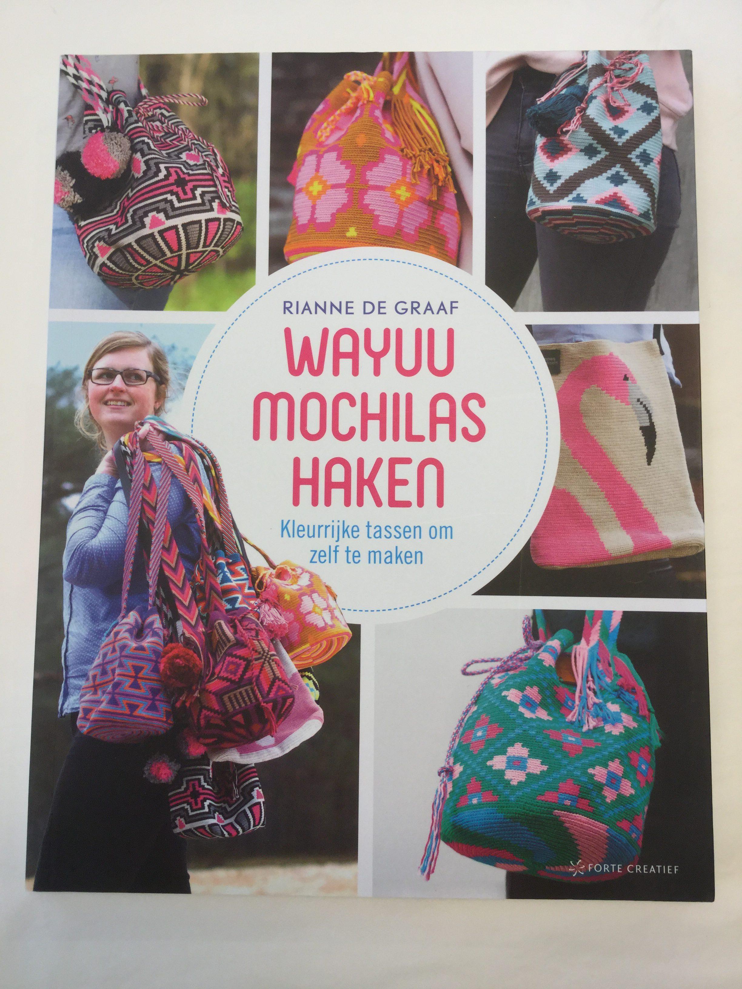 Wayuu Mochilas Haken Rianne De Graaf Te Verkrijgen Bij Atelier9a