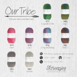 Scheepjeswol Our Tribe Kleur Simy 2